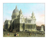 St. Paul's Cathedral Prints by  Canaletto