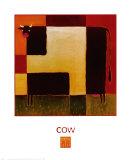 Vache Affiches par Karen Dupré