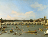 Westminster Bridge, London, Prints by  Canaletto