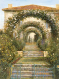 Gateway to the Garden Prints by Michael Longo