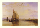 The Dort Packet-Boat from Rotterdam Prints by William Turner