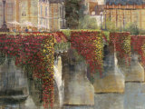 Spring at the Pont Neuf Posters by Michael Longo