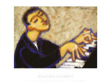 Piano Prints by Marsha Hammel