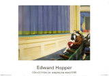 First Row Orchestra, 1951 Poster by Edward Hopper