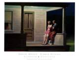 Summer Evening Art by Edward Hopper