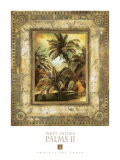West Indies Palms II Poster by  Augustine (Joseph Grassia)