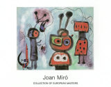 L'Oiseau au Regard, 1952 Poster by Joan Miró