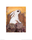 Rabbit Prints by Silvana Crefcoeur