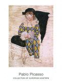 Paul as Harlequin, c.1924 Affiches par Pablo Picasso