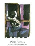 Stillleben mit Rinderschädel, 1942 Poster von Pablo Picasso
