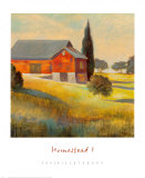 Homestead I Posters by Karen Dupré