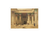 Temple of Philae Art by David Roberts