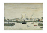 The Harbour Prints by Laurence Stephen Lowry