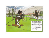 Rules of Golf, Rule XIII Posters by C. Crombie