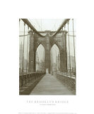 The Brooklyn Bridge, Sunday Am Prints by  The Chelsea Collection