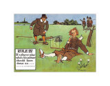 Rules of Golf, Rule IV Print by C. Crombie