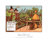 Rules of Golf, Rule VII Print by C. Crombie