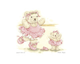 Ballerina Bears II Art by Sarah Bengry
