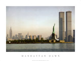 Manhattan Dawn Art