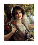 Country Summer Art by Emile Vernon