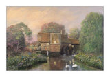 The Old Watermill Print by Alexander Sheridan