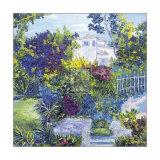 Maison Sur la Cote d'Azur Art by T. Forgione