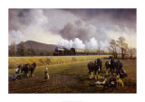 Great Western Near South Brent 1913 Posters by Gerald Broom