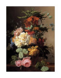 Floral Still Life I Posters by Arnoldus Bloemers