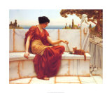 Time to Play Posters por John William Godward
