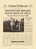 Le mile en moins de 4 minutes Posters