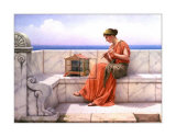 Song Without Words Poster by John William Godward