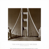 The Golden Gate Bridge, Summer Am Posters