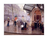 Theatre du Vaudeville Prints by Jean B&#233;raud