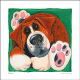 Buster Prints by Kate Mawdsley