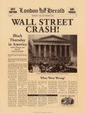 Wall Street Crash! Poster von  The Vintage Collection