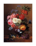 Floral Still Life II Posters by Arnoldus Bloemers