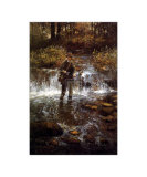 That Elusive Trout Posters af Clive Madgwick