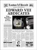 Edward VIII Abdicates Prints by  The Vintage Collection