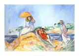 The Yellow Parasol Posters by Henri Lebasque