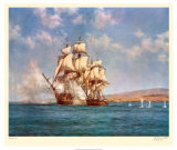 The Smoke of Battle Print by Montague Dawson