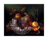 Still Life with Fruit I Prints by Raymond Campbell
