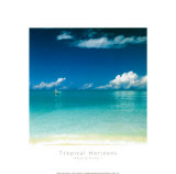 Tropical Horizons I Poster