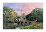 The Village Bridge Prints by Alexander Sheridan