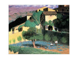 Cagnes Print by F&#233;lix Vallotton