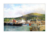 Dingle Harbour Plakater af Clive Madgwick