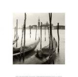 Venetian Gondolas III Posters by Bill Philip