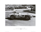 Grand Prix de Monaco, 1955 Print by Alan Smith