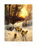 The Sun Had Closed Posters by Joseph Farquharson