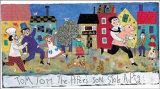 Tom, Tom, the Piper&#39;s Son Poster by Barbara Olsen