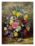 Summer Floral II Arte por Albert Williams